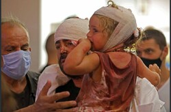 برپایی بیمارستان صحرایی از سوی هلال احمر ایران در بیروت