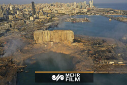 VIDEO: Aerial footage shows aftermath of Beirut explosion