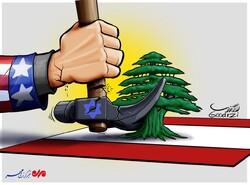 نقش آمریکا و رژیم صهیونیستی در لبنان