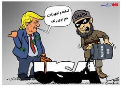 تبادل سلاح و تجهیزات با نفت سوریه توسط داعش و آمریکا!