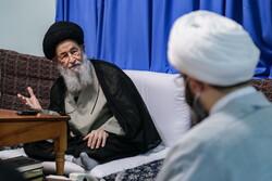 دیدار رئیس سازمان تبلیغات اسلامی با مراجع عظام