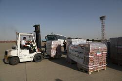 ایران کی طرف  امداد کی پہلی کھیپ لبنان پہنچ گئی