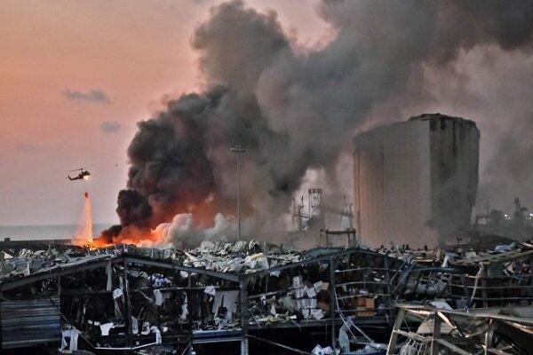 بیروت میں دھماکہ بہت بڑا قومی المیہ / بڑے پیمانے پر جانی و مالی نقصان