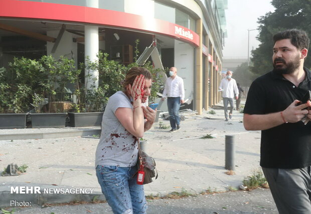 انفجار مهیب در بیروت