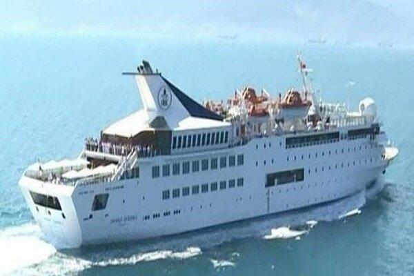 غرق شدن کشتی معروف «اورینت کوین» در بندر بیروت