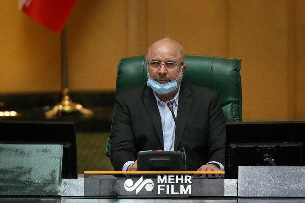 ایرانی پارلیمنٹ کے اسپیکر کا لبنانی عوام کے ساتھ ہمدردی کا اظہار