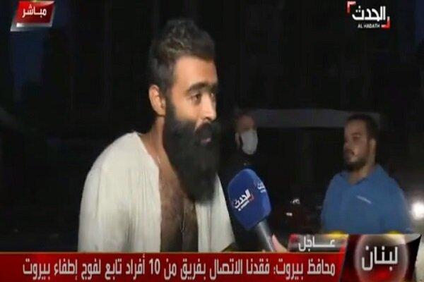 """موقف محرج تعرض له مراسل الحدث في لبنان؛ """"فلسطينية سنية شيعية كلنا واحد والموت لآل سعود"""""""