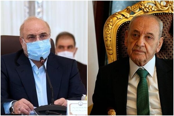 Iran standing by Lebanon: Ghalibaf