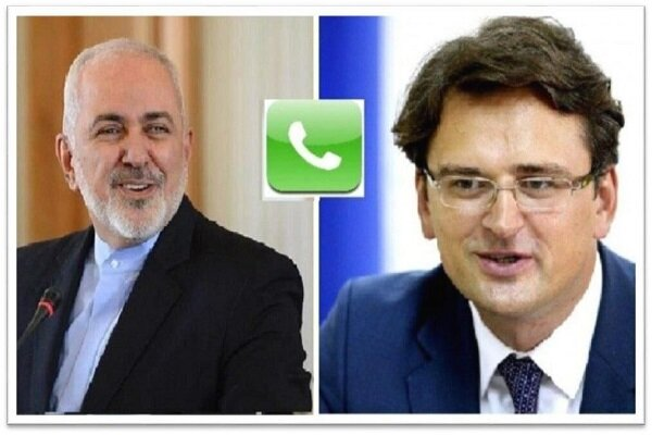 Zarif hold talks with Ukrainian counterpart