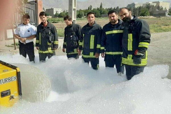 سازمان آتش نشانی شهرقدس به دستگاه های نوین اطفای حریق مجهز شد