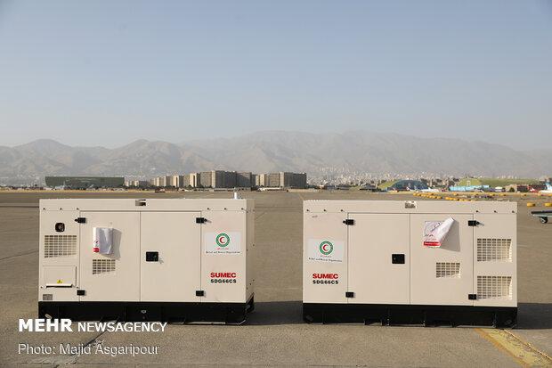Iran's shipment of humanitarian aid to Lebanon