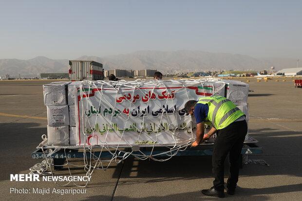 ارسال محموله کمک های بشردوستانه ایران به لبنان