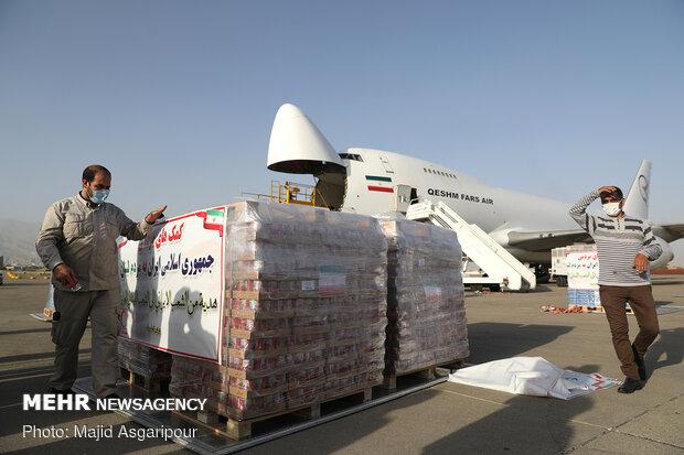 ایران نے 90 ٹن سےزائد  امدادی سامان لبنان پہنچا دیا/ لبنان کے لئے مزید 60 ٹن سامان  آمادہ