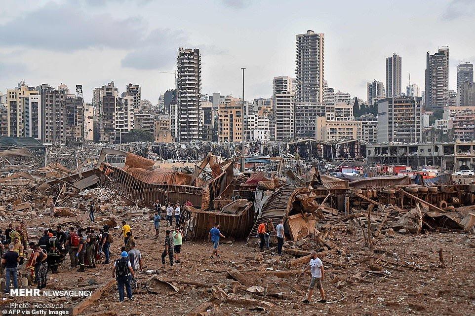 شمار قربانیان انفجار «بیروت» به ۱۹۰ کشته افزایش یافت