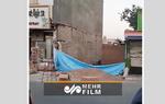 لحظه فرو ریختن یک ساختمان در تهران