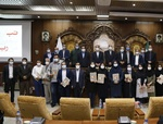 تجلیل از نفرات برتر رویداد رسانهای تبریز