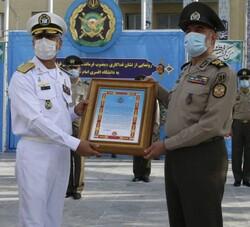 ابلاغ مصوبه اهدای نشان فداکاری دانشگاه افسری امام علی(ع)