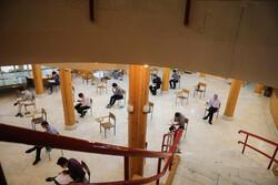 ادامه رقابت کنکور کارشناسی ارشد ۹۹/ آزمون در ۳۶ کدرشته برگزار شد