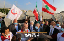 VIDEO: Lebanese health min. visits IRCS' field hospital