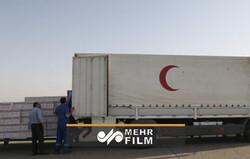 İran Kızılay'ın sahra hastanesi inşaatı Beyrut'ta başladı