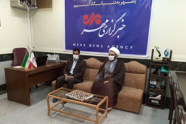 خبرگزاری مهر رسانه تراز انقلاب باشد/ لزوم مطالبه گری مسائل استان
