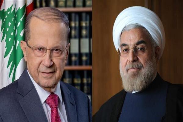 Ruhani, Lübnanlı mevkidaşıyla telefonda görüştü