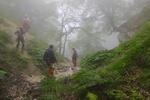 دوچرخه سوار گمشده در ارتفاعات درازنو بعد از ۵ ساعت جستجو پیدا شد