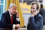 ترامپ و ماکرون درباره ایران و لبنان گفتگو کردند