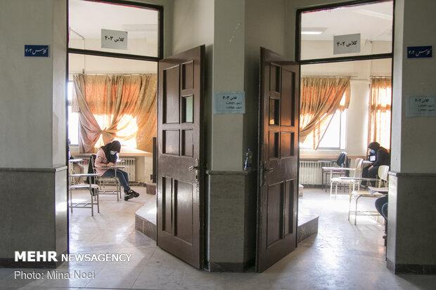 ۵۹ بیمار کرونایی داوطلب کنکور ۹۹ هستند/ تکمیل فرم سلامت برای همه