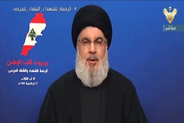 Hizbullah lideri, Beyrut'taki patlama olayını değerlendirdi