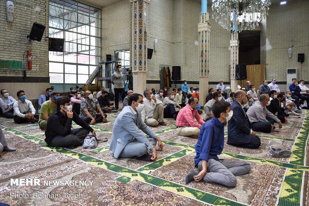 جشن عیدغدیر در مسجد جامع فاطمیه