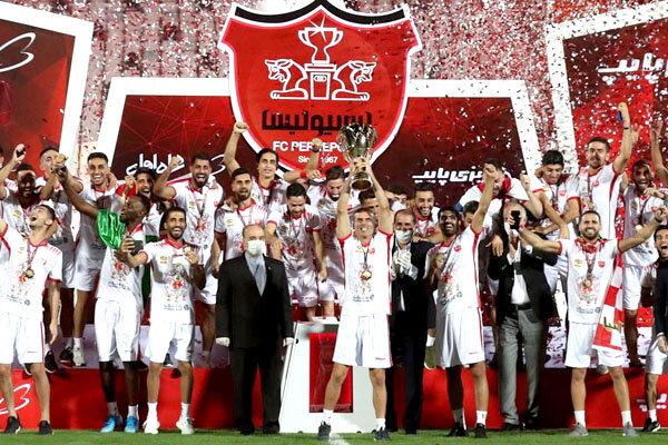 Persepolis Lift Iran Professional League Trophy Tehran Times
