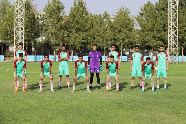 پیروزی تیم فوتبال جوانان ایران در نخستین بازی تدارکاتی