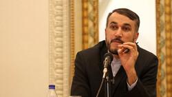 أمير عبداللهيان: لن يمضي وقت طويل حتى يزول الكيان الصهيوني من الخارطة