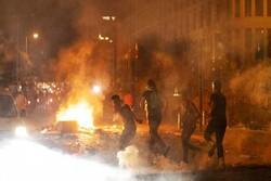 برجاماندن یک کشته و ۱۸۰ زخمی در خشونت های بیروت / آمریکا از آشوب ها حمایت کرد