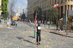 یک کشته و ۱۸۰ زخمی در تظاهرات خشونت آمیز بیروت