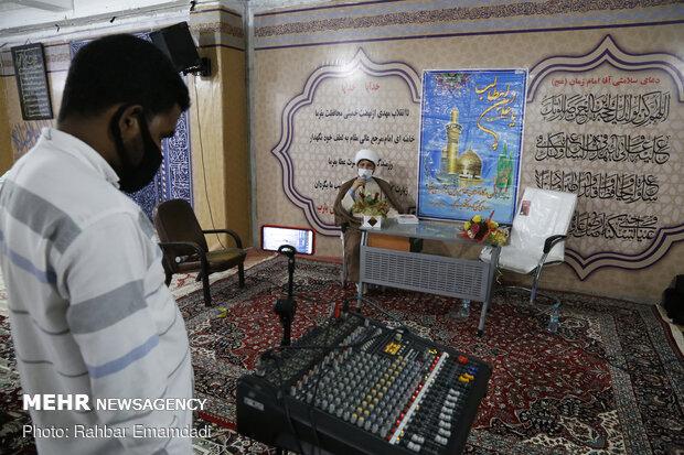 جشن مجازی عید غدیر در قرارگاه جهادی شهید قاسم سلیمانی بندرعباس