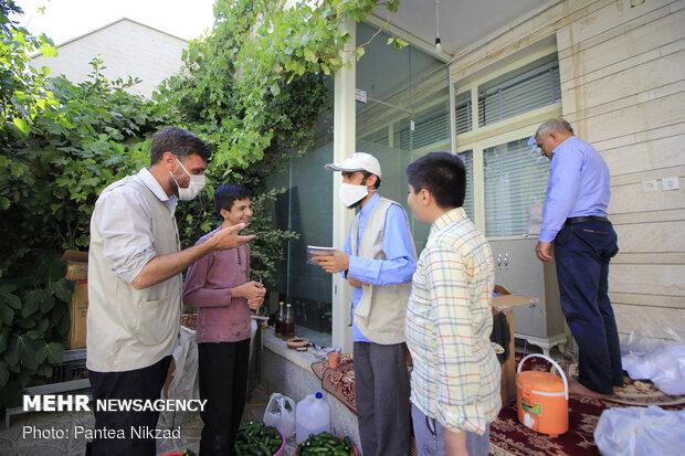 نذر میوه در عید غدیر - شهرکرد