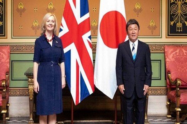 ژاپن و انگلیس بر سر پیمان تجاری توافق کردند