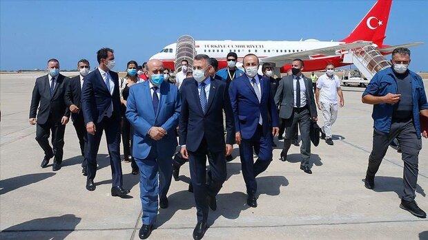 نائب الرئيس التركي:  مستعدون لإعادة بناء مرفأ بيروت