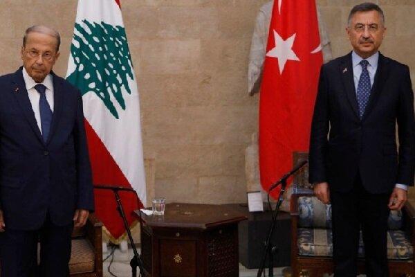 آمادهایم یکی از بنادر ترکیه را برای مبادلات لبنان اختصاص دهیم