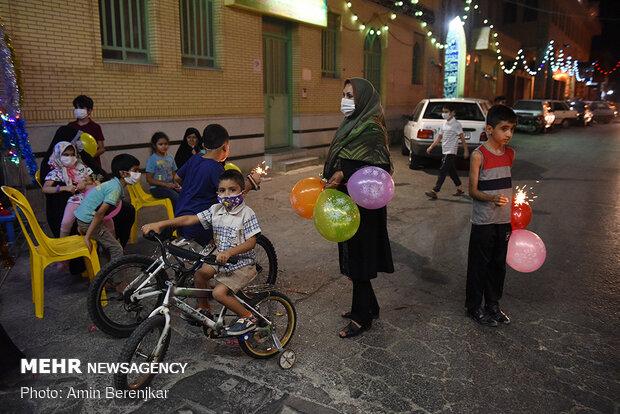 جشنها و کمکهای مومنانه مردمی عید غدیر در شیراز