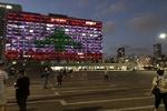 ردة فعل الشارع اللبناني على اضاءة الكيان الصهيوني للعلم اللبناني / فيديو