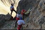 انتقال پیکر بیجان کوهنورد اهوازی از قله «کول جنو» اشترانکوه ازنا