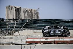 حجم خسارت انفجار مهیب در بندر بیروت