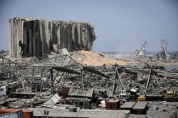بیروت بندرگاہ پر ہونے والے دھماکے میں وسیع پیمانے پر نقصانات
