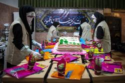 Tahran'da dar gelirli ailelere yardım kampanyası