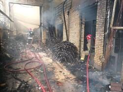 تکذیب آتش سوزی در سوله مدیریت بحران منطقه ۶/حریق در یک انباری ۲۵ متری