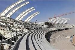 فاز نخست ورزشگاه ۱۵ هزار نفری بروجرد تا پایان دولت بهرهبرداری میشود