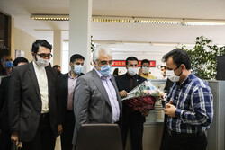 IAU Chancellor visits Mehr News Agency